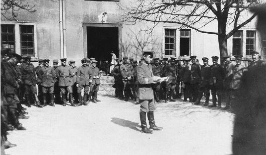 Немецкая армия в ПМВ