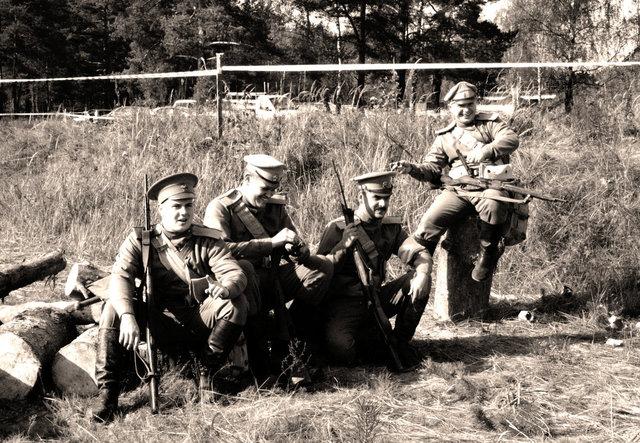 Российская армия в ПМВ
